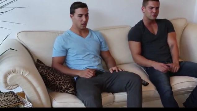 Juan & Victor Jerking off Hot ebony porn pic
