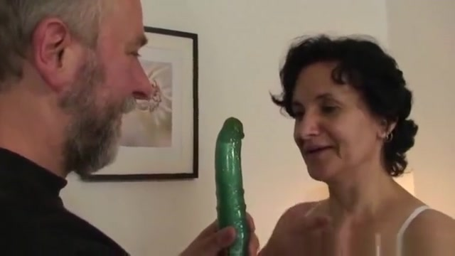 After Pussy Toying Granny Bitch Takes Two Cocks mature mature porn granny old cumshots cumshot