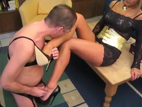 Crazy amateur Blonde, Foot Fetish xxx scene