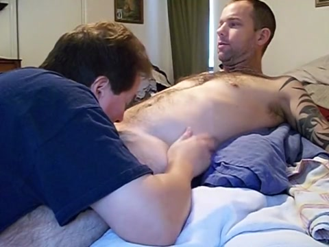 tattoo married man, likes his dick sucked and load swallowed Older wife porn