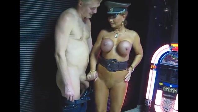 LadyB Big Tits handjob Naked male westlers