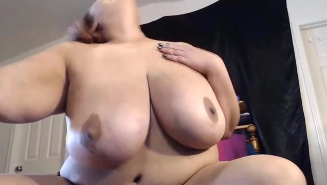 Asian BBW with massive breasts