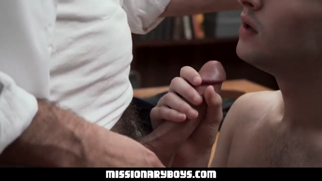 MormonBoyz - Horny Priest Watches As A Religious Boy Jerks His Cock In Confession Ebony wives tumblr