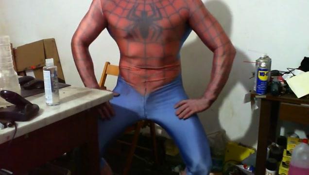 Spiderman lycra muscle fleshlight Sex girl in Africa