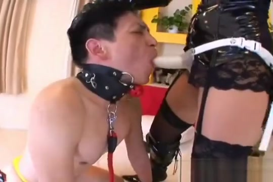 Chubby japanese mistress fucking the slave when i have sex
