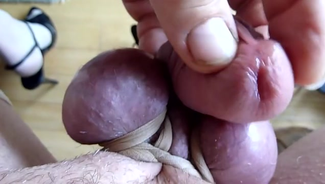 tied up balls- I feel the cum rising im my stiff cock Fastpic old and young sex