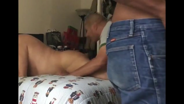 local daddies sex party with BBC Mature fucked in bed