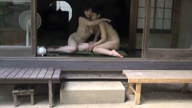 Hottest Japanese girl in Horny Lesbian, HD JAV scene The office tv