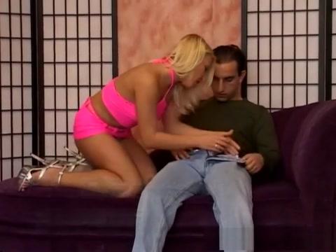 Best pornstar Gina Blonde in fabulous creampie, blonde adult movie