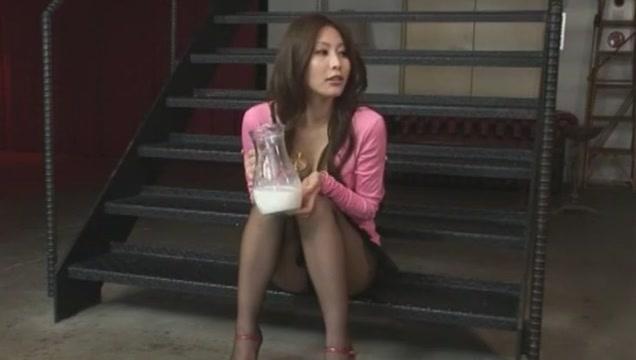 Crazy Japanese slut in Incredible Blowjob, DP JAV clip
