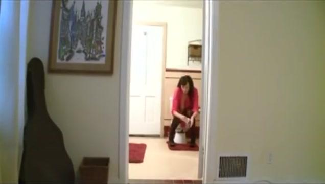 Alia Janine bondage in bathroom vagina tumor behind vaginal wall