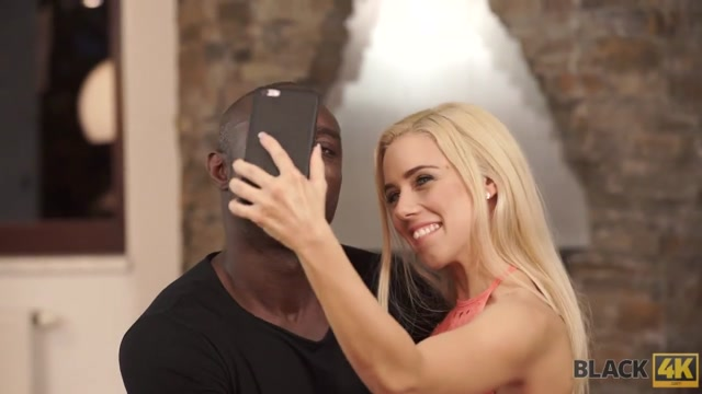 BLACK4K. Blonde Nesty experiences interracial sex with black fucker Naked wife potbellied
