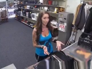 Brunette Sucking Dick Behind Counter In Pawn Shop use car in japan