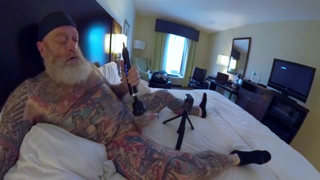 Inked Daddy Bear Doxy Wand and Sounding with Custom Silicone Sound Part 1 Free Porn Of Big Tits