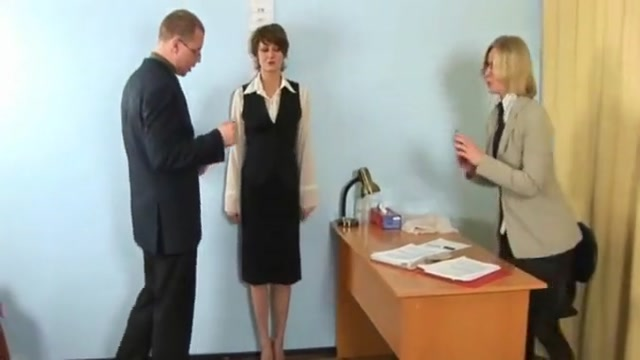 Humiliating nude job interview for elegant young lady What causes people to fall in love