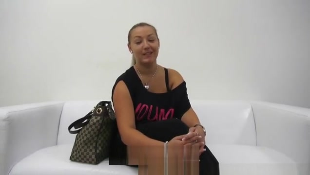 Casting Huge Natural Boobs sized 7 she sucks the cum out