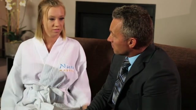 Blonde Bailey Begs For Marcus Hot Cum