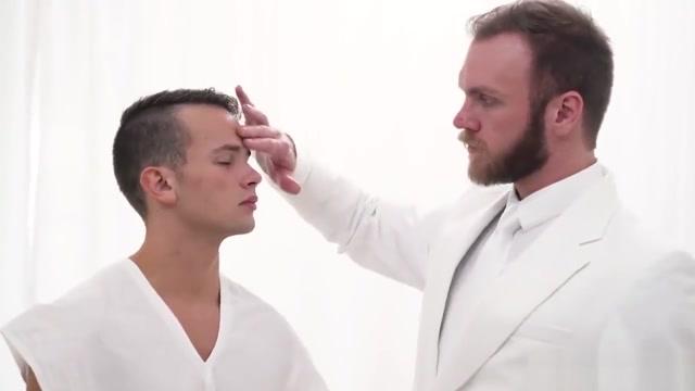 Mormon Bishop Gibson initiates young elder into the brotherhood xxx sexy weding video