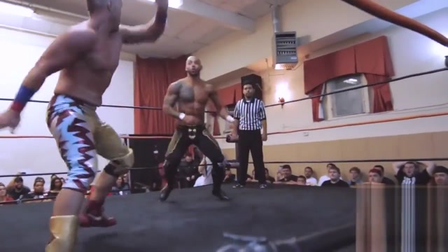Amazing Red, the British champ, pile drives my boy Ricochet and the stud On the road voyeur videos