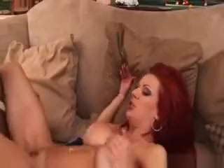 Redhead Shannon Kelly Likes Them Big And Black! Super femdom art