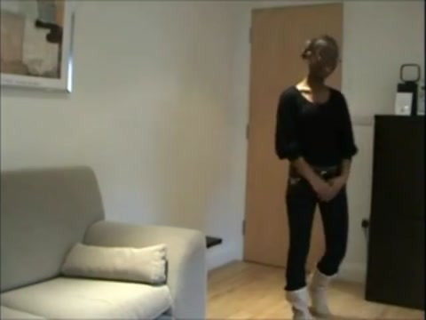 Beautiful Black Girl Punished In His Apartment female playing male ass