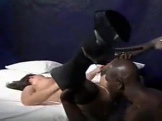 InterracialPlace.org - Brunette milf blows black cock and fucked roughly Horny milfs in Romania