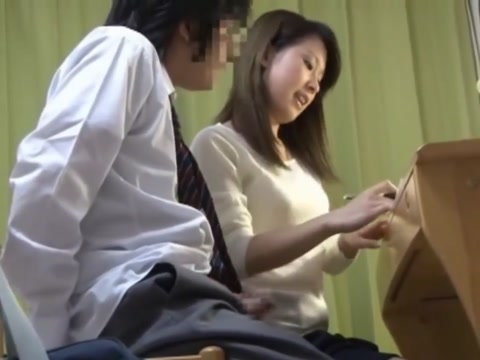 japanese teacher dick fellatio Big light skin naked boobs