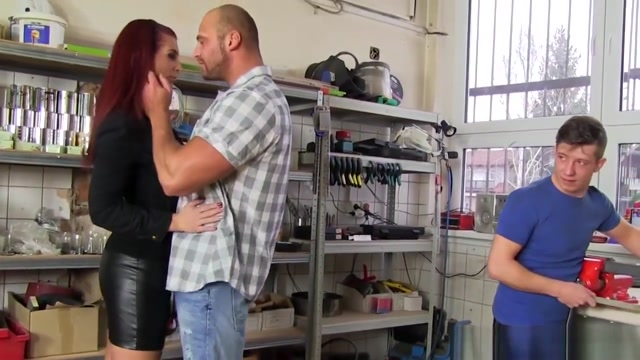 Buff Bi Dude Gets Blowjob Clubdom femdom video