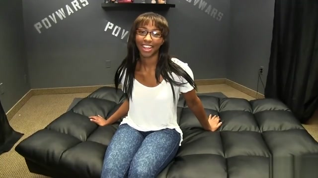 nerdy ebony Fat girl fucking