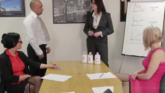 Office Femdom Affair With Chantelle Fox at the bottom of the email