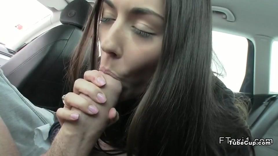 Beautiful Czech babe banged in fake taxi Pantyhose smoker manual
