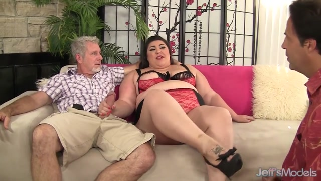 Hot BBW Bella Bendz Occupies Her Mouth and Asshole with Two Older Dicks monique the black pornstar