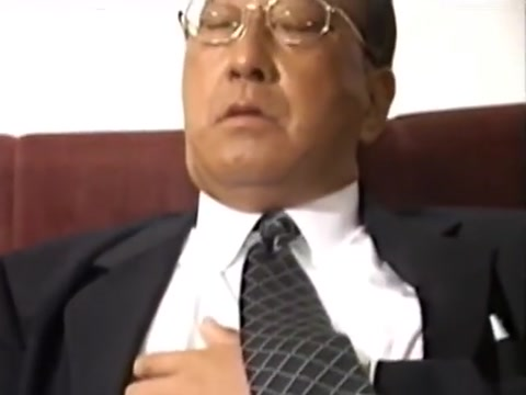Japanese old man 53 Fat women hairy cunny