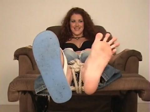 Sabrina tickled