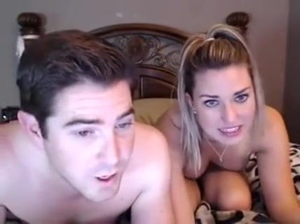 Attractive Blonde On Cam Licking And Drawing Cock Of He
