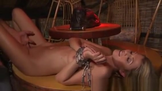 Submissive Blonde With Brutal Redneck nancy gribble in a pron