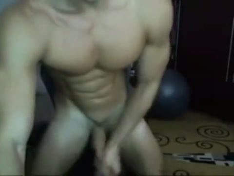 Hot Muscular Jock Wearing Cap Masturbating Solo on Webcam Gianna michaels clothed natural big tits then undresses
