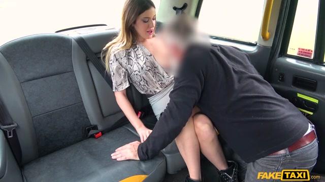 Driver Fucks Abandoned Girlfriend - FakeTaxi