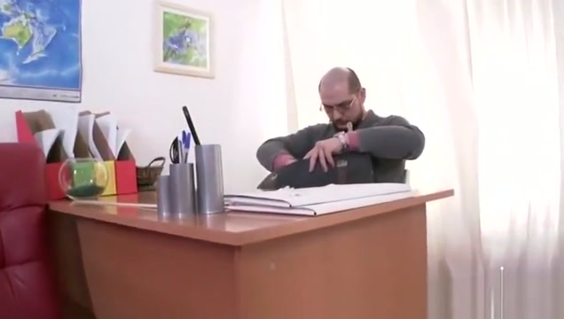 Tricky Old Teacher - Karolin drops her panties free love making videos