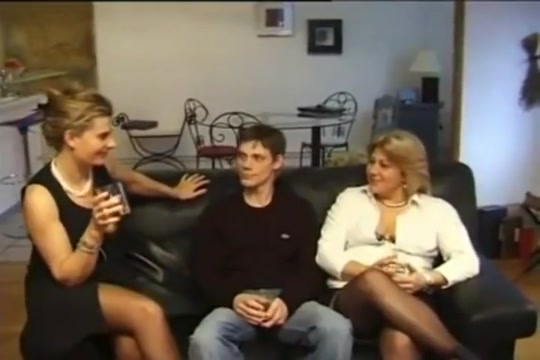 Crazy adult clip French wild , take a look