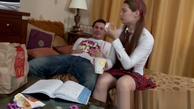Tutor Teaching Pleasure Lessons To Teen Student!
