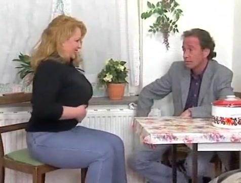 Blonde German mature BBW gets fucked