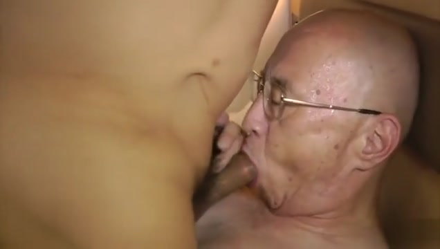 Japanese OldMen Fuck Threesome3 Shaved cock cumshot dvd