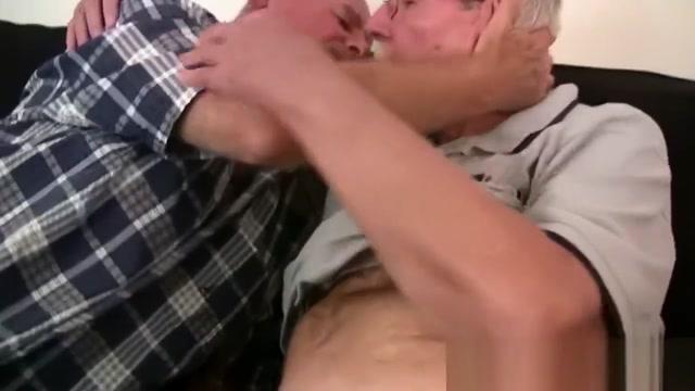grandpa and grandpa Two mature women are fucked strapon