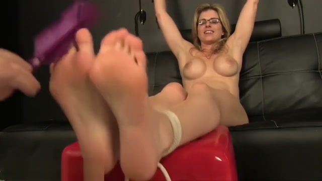 Cory Has Her Bare Feet Tickled