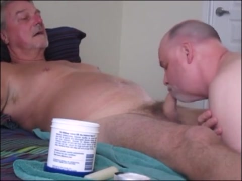 Savoring the Uncut Mature blonde is delighted to suck cock