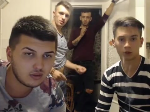 4 Romanian guys open4more3 show cocks and holes at Chaturbate Sex goddess in lingerie rubbing her craving snatch