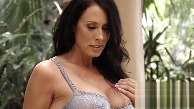 Lingerie clad Reagan Foxx bouncing on big cock after BJ free video biker rally sex