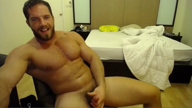 Solo Muscle Hunk Cums All Over His Chest With Brock Jacobs How to finger woman to orgasm