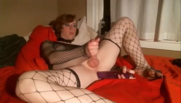 Beautiful Young TS Fapping with a dildo up her asshole Huge titty amateur fucks for cash